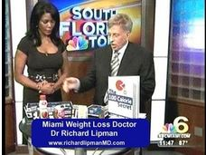 http://www.youtube.com/watch?v=lRlZmdGtIb8   Lose 5-7 lbs per Week with Dr Lipman's Miami Diet Plan           Miami Diet Doctor and weight loss specialist Dr Richard Lipman M.D. at www.richardlipmanmd.com has treated more than 30,000 overweight patients in his Miami, Fl office for the past 30 years.He prescribes weight loss plan individualized for the patient along with FDA approved diet pills and medications such as phentermine, Qsymia, bontril and the most potent prescription HCG available