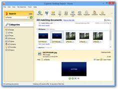 Copernic Desktop Search Home is an easy and fast way to locate specific items.  http://www.softpedia.com/reviews/windows/Copernic-Desktop-Search-Home-Review-369603.shtml
