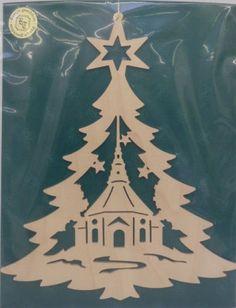 Fensterbild-Tannenbaum-Seiffener-Kirche-Original-Handwerkskunst-Erzgebirge
