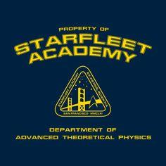 Starfleet Academy apparel - Department of Advanced Theoretical Phyics