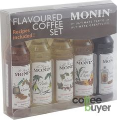 Monin Flavoured Coffee Syrups: Amazon.co.uk: Grocery