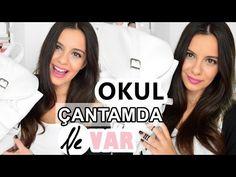 Okul Çantamda Ne Var 2015   What's In My School Bag 2015 - YouTube