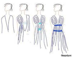 DIY greek dress, but probs not so low cut