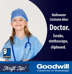 #Halloween costume shopping this weekend? Get what you need for this easy costume at #Goodwill!