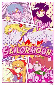 Sailor Moon & the Inner Sailor Scouts Sailor Moon Crystal, Sailor Moon S, Sailor Jupiter, Sailor Venus, Sailor Mars, Sailor Moon Makeup, Wallpapers Sailor Moon, Sailor Moon Wallpaper, Cute Wallpapers