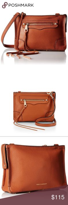 Rebecca Minkoff Reagan Leather Crossbody Purse