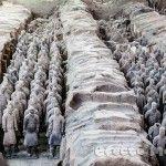 Budas gigantes,  guerreros de terracota y horas de tren en China