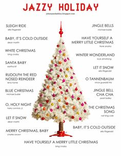 Jazzy Christmas Playlist would be great to make for Mom and Dad. Jazzy Christmas Playlist would be great to make for Mom and Dad. Merry Little Christmas, Cozy Christmas, All Things Christmas, Holiday Fun, Christmas Holidays, Christmas Decorations, Xmas, Songs Of Christmas, Christmas Ideas For Mom