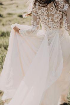 Lace Boho Wedding Dress | Photo: India Earl