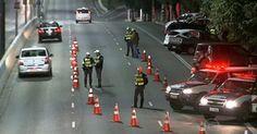 Após denúncia, PM faz blitz no corredor Norte-Sul para evitar 'rachas'