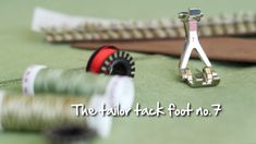 Tailor Tack Foot Tailer tack foot can be used for sewing elegant embellishments, imitation hemstitch, fringe, and Sewing Binding, Serger Sewing, Sewing Tools, Sewing Hacks, Sewing Tutorials, Easy Knitting Projects, Sewing Projects For Beginners, Knitting For Beginners, Embroidery Fabric