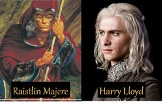 Raistlin Majere - Harry Lloyd, Dragonlance series