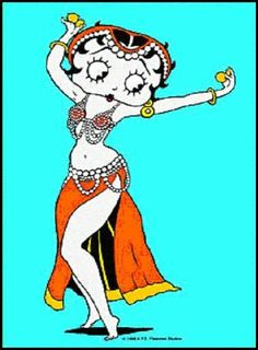 Belly dancing Betty