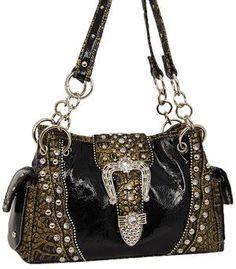 31e94b3995e1 Western Purse w Rhinestone Hermes Handbags