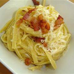Pasta Carbonara I Allrecipes.com