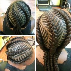 African Cornrows Designs 2017 for Every Lady's Hair Type. Howdy ladies, these are beautiful cornrows hairstyles that will brighten your face, they are simpl Braided Hairstyles For Black Women, African Braids Hairstyles, Pretty Hairstyles, Girl Hairstyles, Black Hairstyles, Hairdos, Hairstyle Ideas, Cornrow Braid Styles, Kid Braid Styles