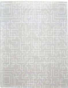Name:Labyrinth B Signature Rug, Item id:glr_Labyrinth_Pearl (Medium Image)