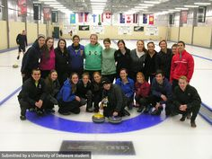 UD students tried something new and participated in  the unique sports of Curling in New Zealand!