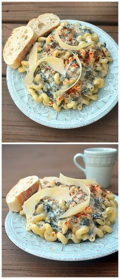 Spinach and Artichoke Dip Alfredo ~ RecipeNatural