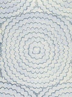 DecoratorsBest - Detail1 - Sch 5006071 - Feather Bloom - Two Blues - Wallpaper - - Fabrics - DecoratorsBest