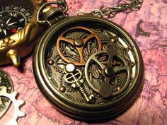 Steampunk piece that has a nice well used feel to it!