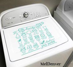 Retro Home Decor Small Laundry Rooms, Laundry Room Organization, Laundry Room Design, Laundry Detergent Storage, Organizing, Kitchen Designs, Laundry Icons, Laundry Humor, Retro Home Decor