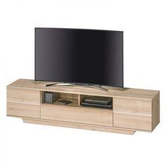 TV-Lowboard Bredo - Edelbuche Dekor