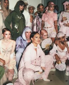 Backstage @ FENTYXPUMA show in Paris.