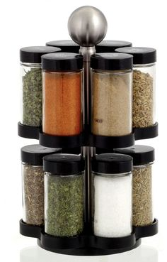 Kamenstein 'Madison' 12-jar Revolving Spice Rack #KamensteinMadison