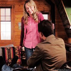 They are the darn cutest thing. So glad they got married Heartland Season 9, Watch Heartland, Heartland Quotes, Heartland Tv Show, Heartland Actors, Heartland Ranch, Best Tv Shows, Best Shows Ever, Favorite Tv Shows