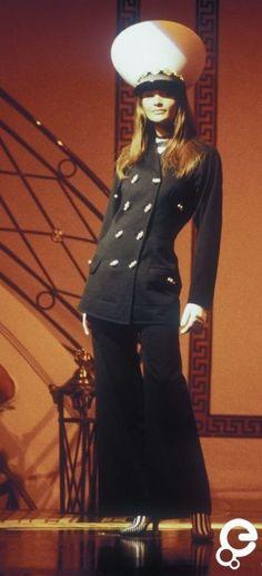 Helena Christiansen - Gianni Versace, Spring-Summer 1993, Couture