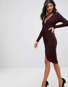 Morgan   Morgan Cross Front Cut Out Detail Mini Dress Party Wear For Women,  Christmas 2f766ff0e24