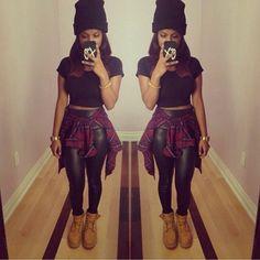 😍 Love it! #HipHop #LoveIt #Black&Red