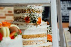 Tarta de boda. Naked cake. Wedding cake. Foto: Estudionce Organización: Señor y señora de #bodassrysrade www.señoryseñorade.com