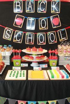 Back to school party printables by www.mimisdollhouse.com
