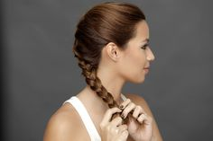 How to nail a simple french braid French Braid, Every Woman, Beauty Women, Your Hair, Braids, Hairstyles, Skin Care, Simple, Bang Braids