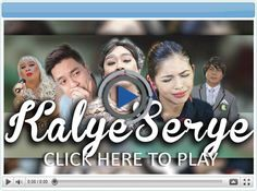Kalyeserye - an improv dramedy incorporated within a lunchtime TV show. Even the drama part is hilarious! Full Episodes, Pinoy, Problem Solving, Tv Shows, Drama, Hilarious, December 26, Portal, Movie Posters