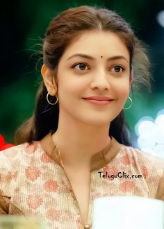 Kajal Aggarwal Beautiful Girl Indian, Most Beautiful Indian Actress, Beautiful Saree, Beautiful Actresses, Beautiful Eyes, Beautiful Bride, Cute Beauty, Beauty Full Girl, Beauty Women