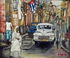 The street of Havana