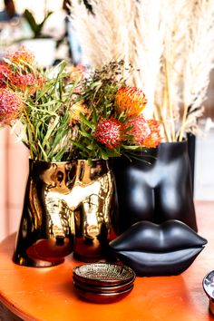 Our Tuckus Planter is a fun piece that's perfect for flowers or plants and adds a bit of mischief to your home. #Ceramic #Pottery #Handmade #Vase #Planter #Design #SouthAfrica #Decor #HomeDecor #EventStyling #Flowers #Fun #Plants #Home #Styling