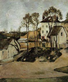 Paul Cézanne | The house of Doctor Gachet, Auver-sur-Oise, 1872-1873