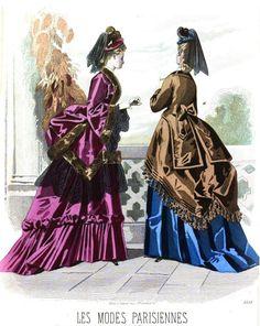 Les Modes Parisiennes 1872