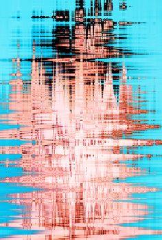 Print: Wave Print II · CEATHRAMH GORM