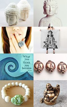 Because the Buddha Told Me So by bekkaleetrapp on Etsy--Pinned with TreasuryPin.com