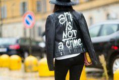 """Art is not a crime"""