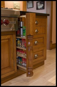 Inspiring hidden storage