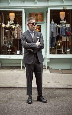 Old Man Fashion, Suit Fashion, Mens Fashion, Fasion, Nick Wooster, Business Portrait, Sharp Dressed Man, Gentleman Style, Stylish Men