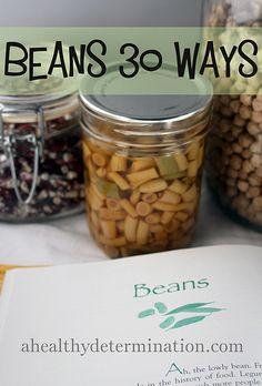 Beans 30 Ways