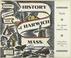 Bookjacket for History of Harwich, Massachusetts, image via http://digitalgallery.nypl.org/nypldigital/dgkeysearchresult.cfm?num=60=whales=1=====1=======20=