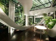 Slovenia's Indoor Undulating Panoramic Garden by Sadar Vuga Architects (12)